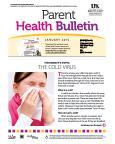 January 2015 Parent Health Bulletin