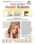 February 2015 Health Bulletin Family Caregiver