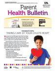 February 2015 Health Bulletin Parent