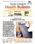 March 2013 Caregiver Health Bulletin