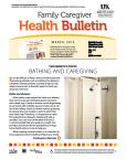March 2015 Family Caregiver Heath Bulletin