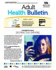 April 2015 Adult Health Bulletin