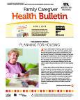 April 2015 Caregiver Health Bulletin