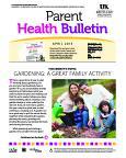 April 2015 Parent Health Bulletin