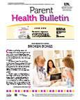 June 2013 Parent Health Bulletin