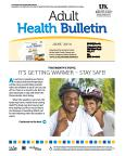 June 2014 Adult Health Bulletin