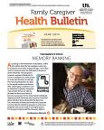 June 2014 Care Giver Health Bulletin