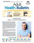 June 2015 Health Bulletin Adult