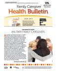 June 2015 Health Bulletin Parent Family Caregiver
