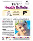 June 2015 Health Bulletin Parent