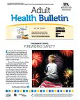 July 2014 Adult Health Bulletin