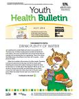 July 2014 Youth Health Bulletin