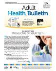 July 2015 Health Bulletin Adult