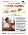 July 2015 Health Bulletin Family Caregiver