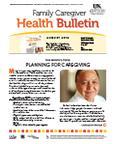 August 2012 Caregiver Health Bulletin