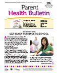 August 2012 Parent Health Bulletin