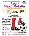 August 2013 Parent Health Bulletin