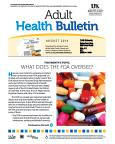 August 2014 Adult Health Bulletin
