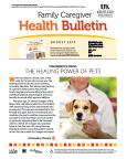 August 2014 Care Giver Health Bulletin