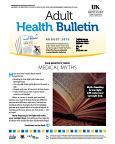 August 2015 Adult Health Bulletin