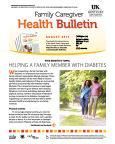 August 2015 Family Caregiver Health Bulletin