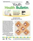 August 2015 Youth Health Bulletin