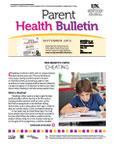 September 2013 Parent Health Bulletin