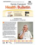 September 2014 Care Giver Health Bulletin