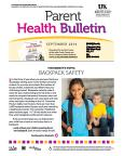 September 2014 Parent Health Bulletin
