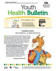September 2014 Youth Health Bulletin