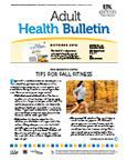 October 2012 Adult Health Bulletin