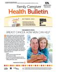 October 2014 Care Giver Health Bulletin
