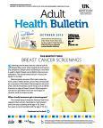 October 2015 Adult Health Bulletin