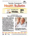 November 2012 Caregiver Health Bulletin