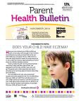 November 2014 Parent HEEL Bulletin