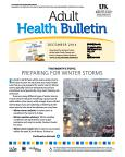 December 2014 Adult Health Bulletin