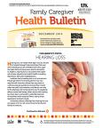 December 2014 Caregiver Health Bulletin