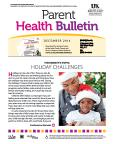 December 2014 Parent Health Bulletin