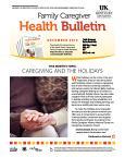 December 2015 Familiy Caregiver Health Bulletin