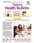December 2015 Parent Health Bulletin