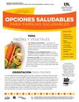 April / May 2014 Healthy Choices Spanish Newsletter