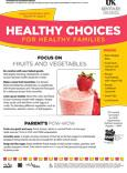 August / September 2014 Healthy Choices Newsletter