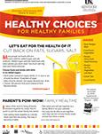 December 2015 / January 2016 Healthy Choices Newsletter