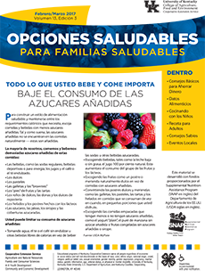 February / March 2017 Spanish Healthy Choice Newsletter