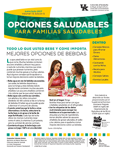 June / July Healthy Choices Spanish Newsletter