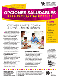 August / September 2017 Healthy Choices Spanish Newsletter