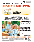 August 2017 Family Caregiver Health Bulletin