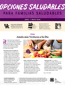 April / May 2018 Healthy Choices Spanish