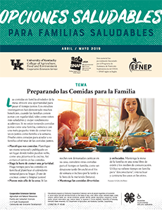 April / May 2019 Healthy Choices Newsletter Spanish