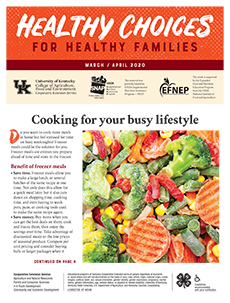 March / April 2020 Healthy Choices Newsletter English